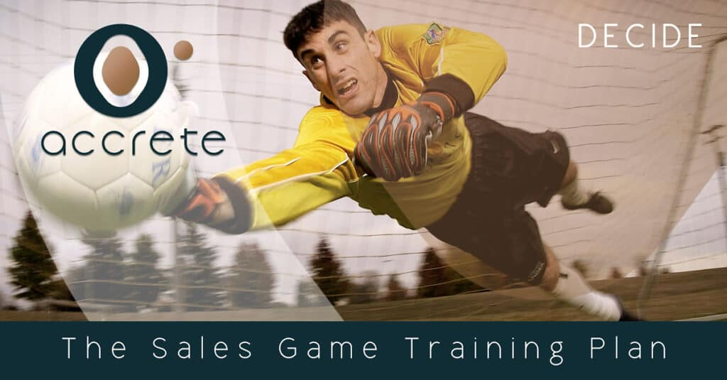 The Sales Game Training Plan